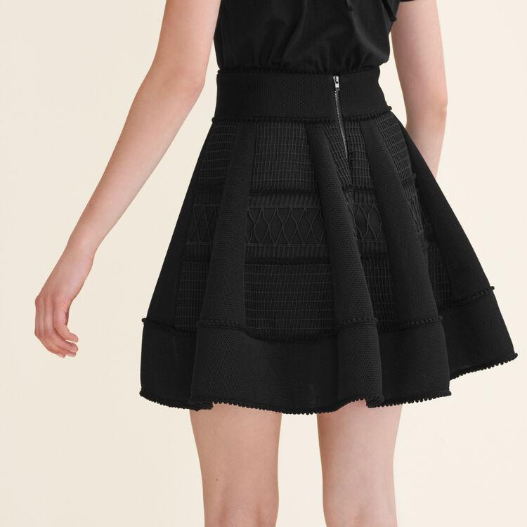 Mesh puffball skirt : Skirts & Shorts color Black 210