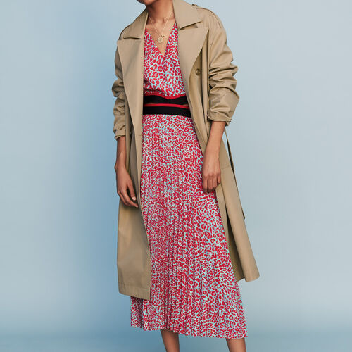 Toile classic trench : Coats color Beige