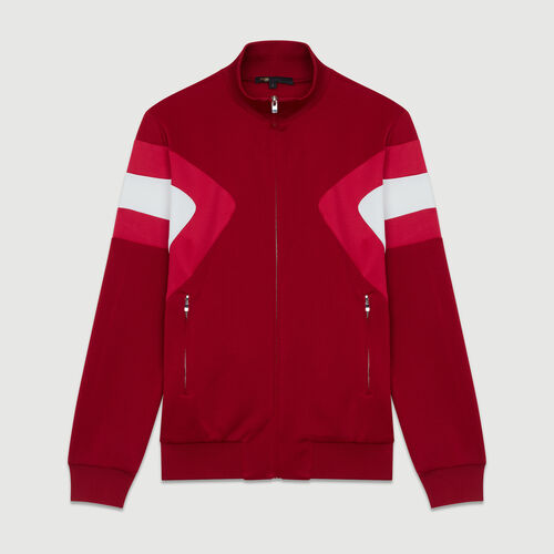 Track jacket : Blazers color Raspberry