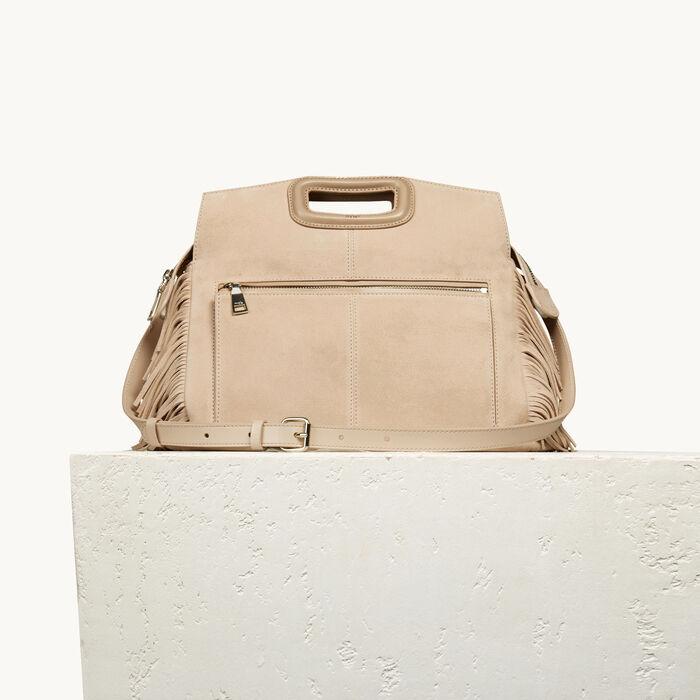 Suede M Walk bag - Dress Code - MAJE
