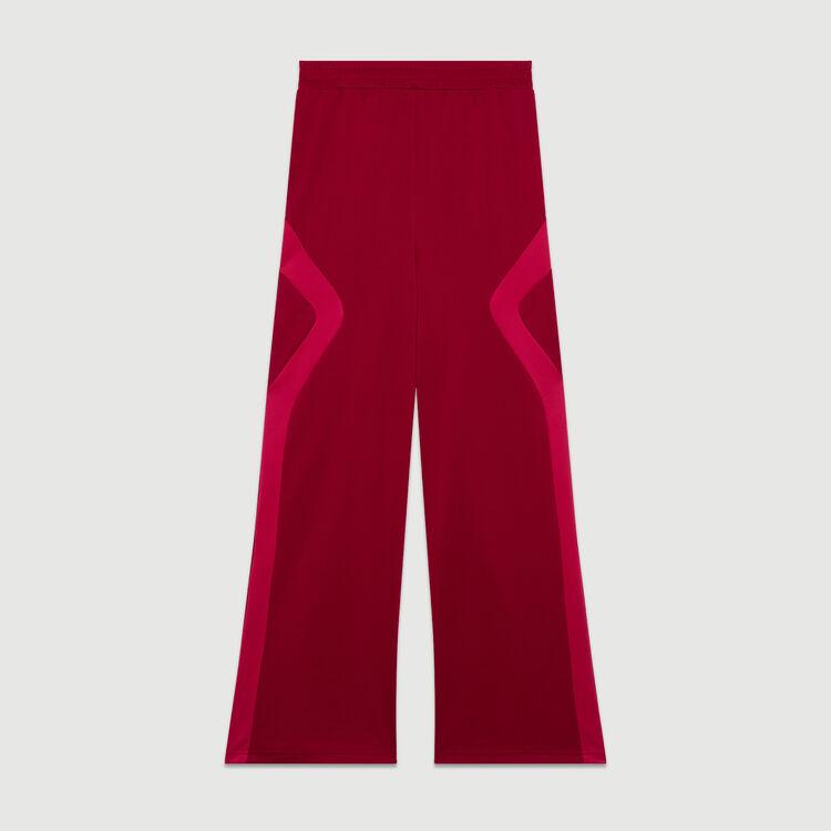 Jogging pants : Trousers color Raspberry