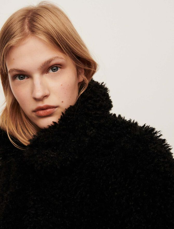 Faux fur coat - Coats & Jackets - MAJE