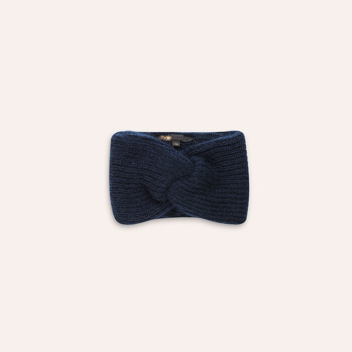 Knitted headband : Accessoires color Navy