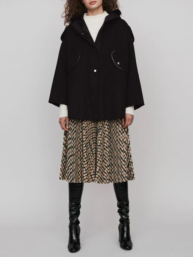 Double face cape coat - Coats & Jackets - MAJE