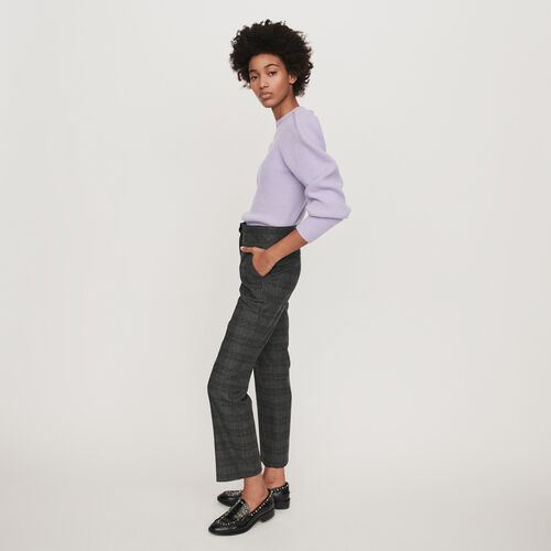 Prince of Wales pants : Winter collection color Grey