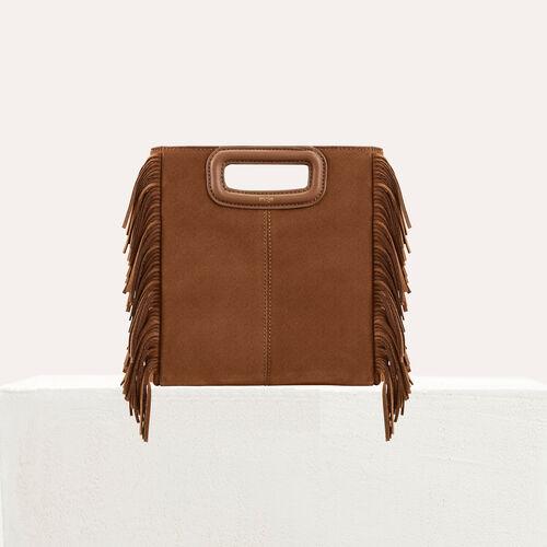 M bag true M bag with suede fringes   M bag color Black 210 1c5f0640def88
