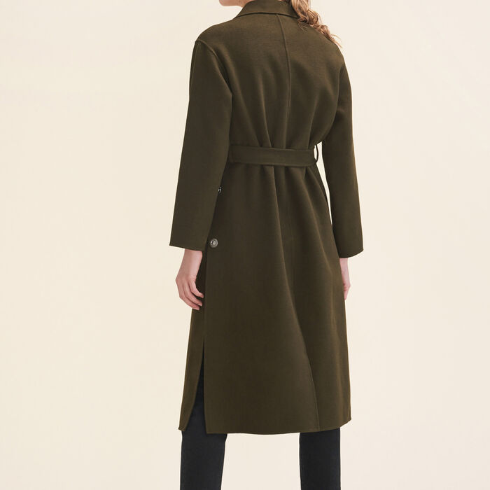 Long double-sided coat -  - MAJE