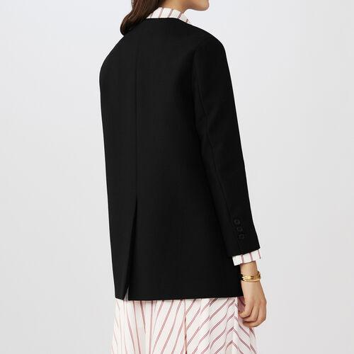 Blazer kimono collar : Blazers color Black 210