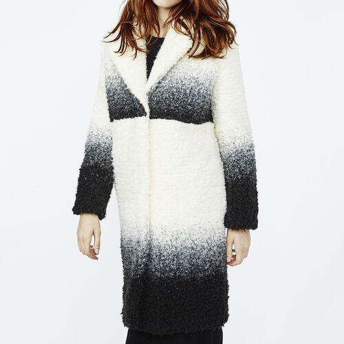 Tye and dye coat : Coats color Ecru