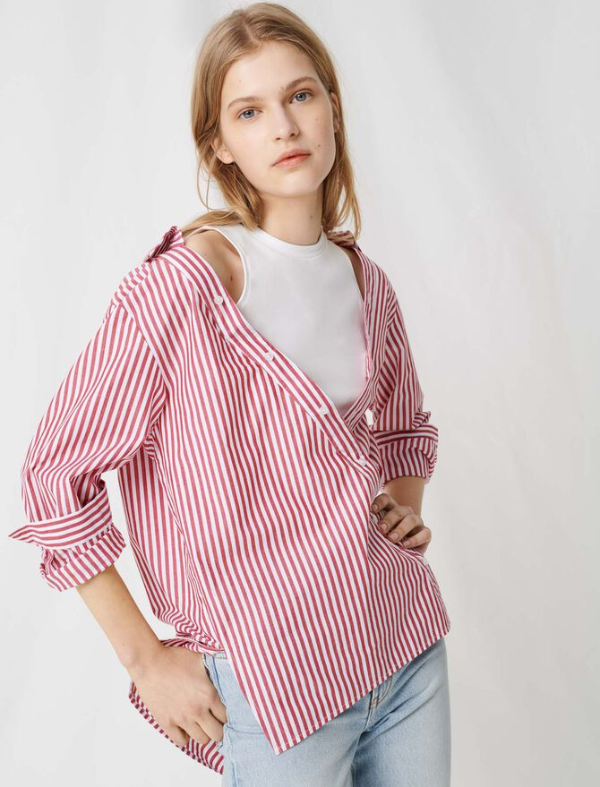 Top with scarf-style short sleeves - All the collection - MAJE