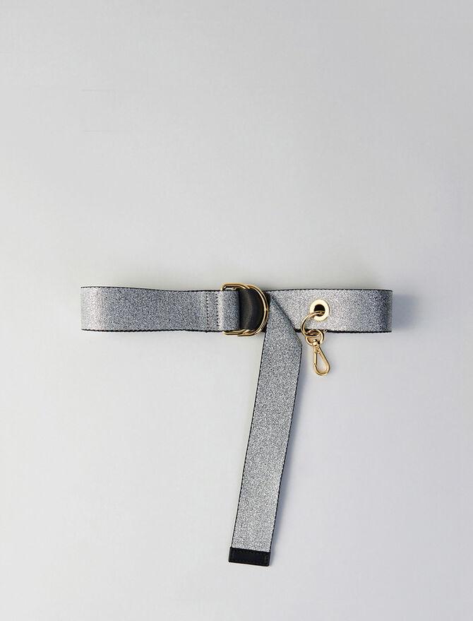 Strappy belt with removable hook -  - MAJE