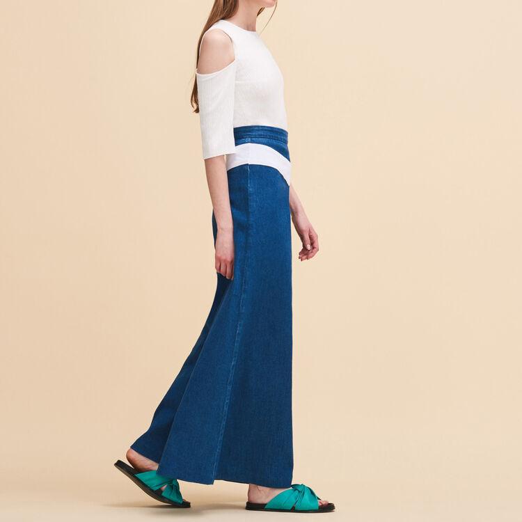 Flat sandals : Accessories color Green