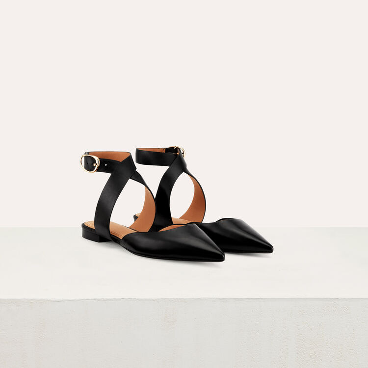 Pointed toe mules : Shoes color Black 210