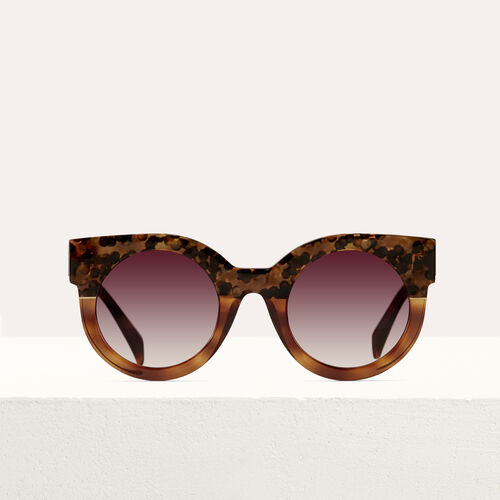 Cat's eye sunglasses : Eyewear color ECAILLE
