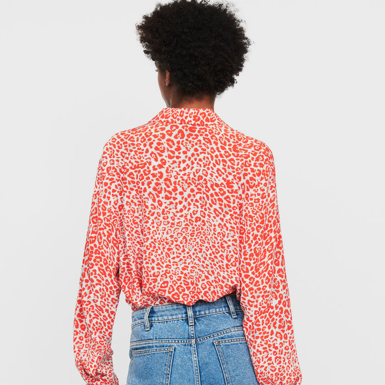 Leopard print blouse : Shirts color PRINTED