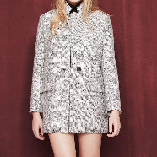 Long jacquard jacket : Blazers & Jackets color Jacquard