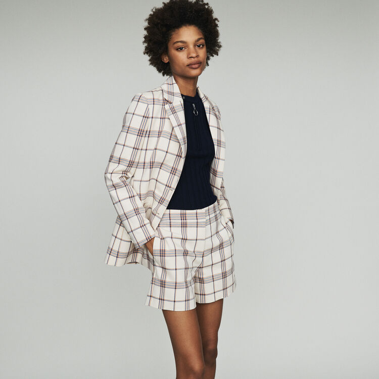 Tailor's jacket with checks  : Blazers color CARREAUX