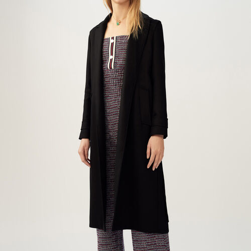 Trench coat with detachable belt - Pre-collection - MAJE
