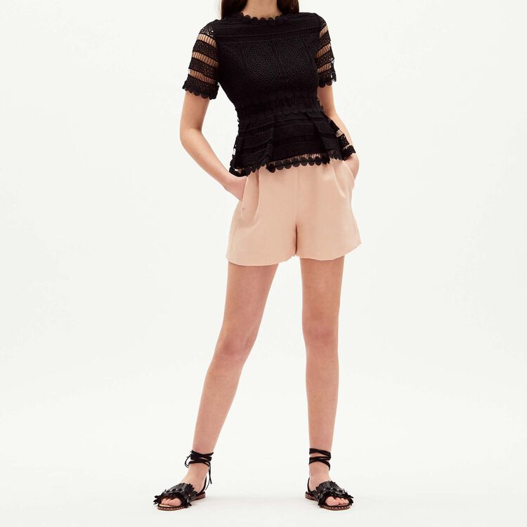 Top in lace - Tops - MAJE