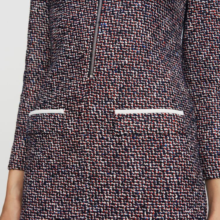 Tweed shirt dress : See all color Jacquard
