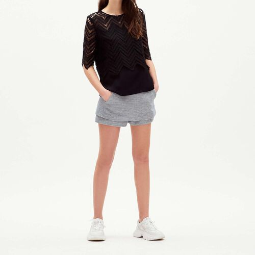 Top in lace : Tops color Black 210