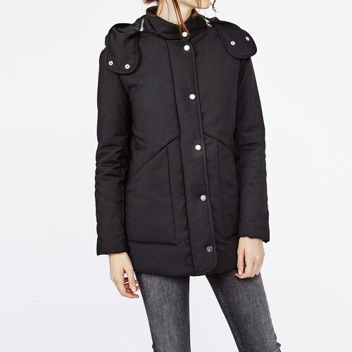 Padded parka : Coats color Black 210
