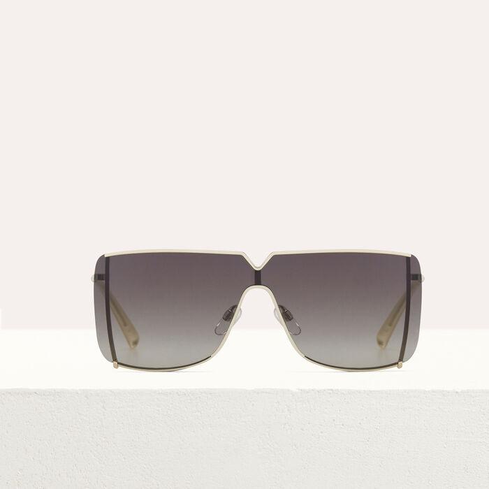 Lunettes de soleil Masque en métal : Eyewear color Multico