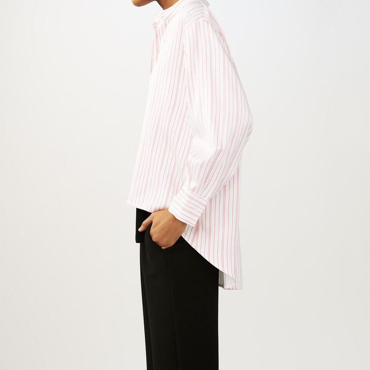 Oversized striped shirt : Shirts color Stripe