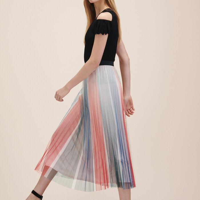 Pleated midi skirt - -30% - MAJE
