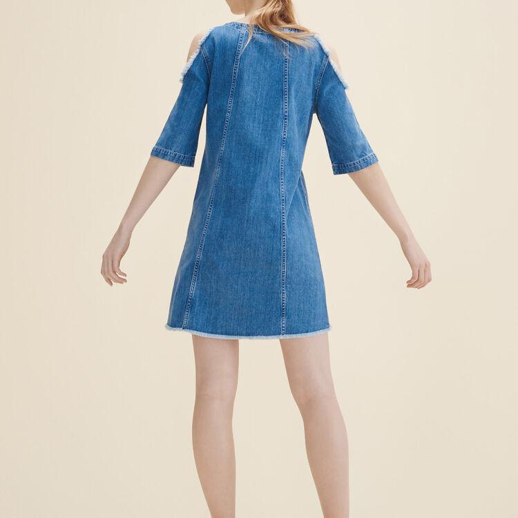 Denim dress : See all color Blue
