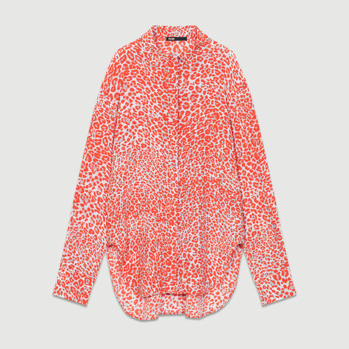 Leopard print blouse : Ready to wear color PRINTED