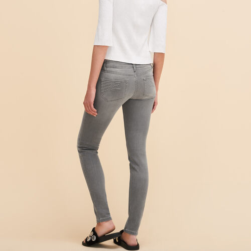 Skinny jeans : Summer Collection color Grey