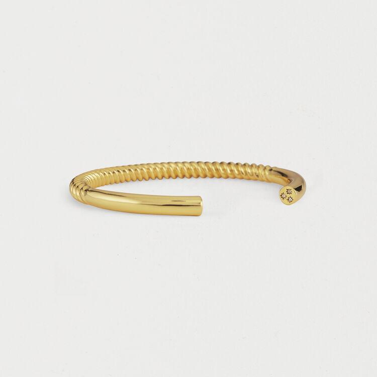 "Saturday ""Semainier"" Bangle : Jewelry color GOLD"