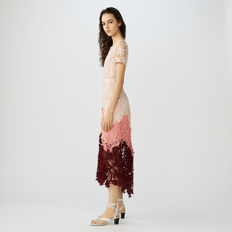 Long dress in performance fabric : Dresses color Multico