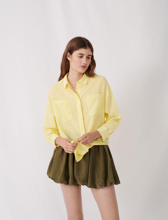 Airy shirt - Tops & Shirts - MAJE