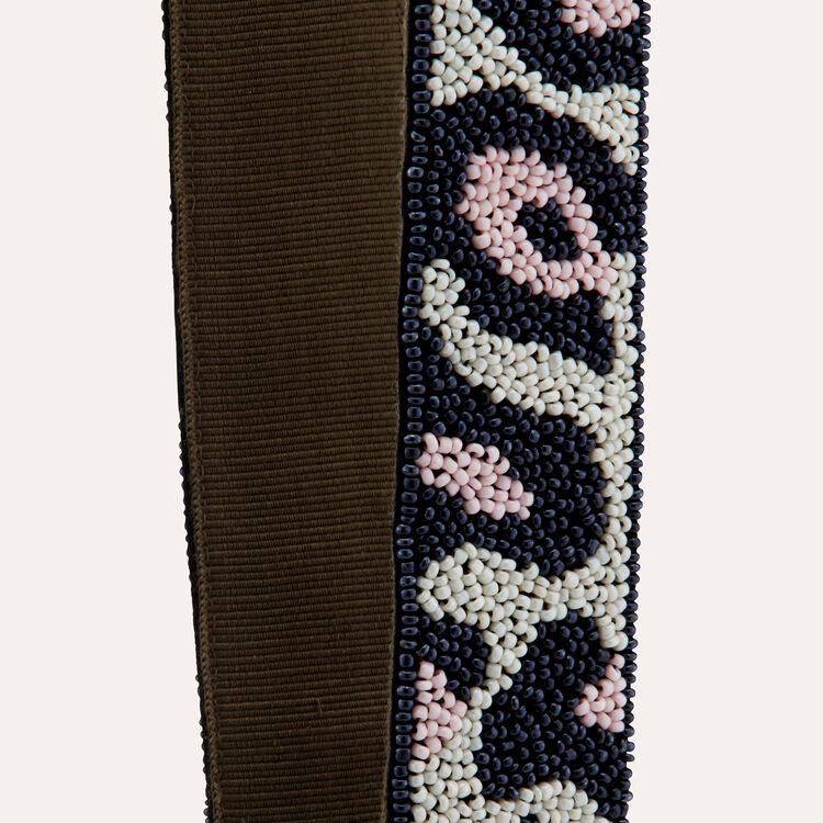 Shoulder straps leopard : Straps color Multico