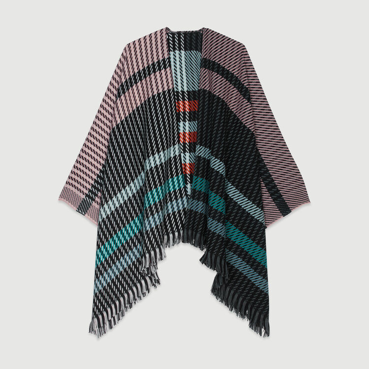 Poncho in stripes : New in : Summer Collection color