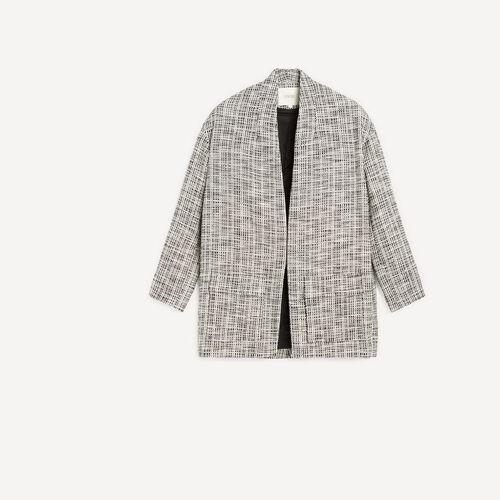 Cotton coat : Coats color Black 210