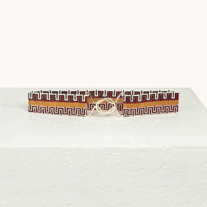 Beaded belt - Belts - MAJE