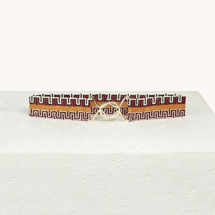 Beaded belt -  - MAJE