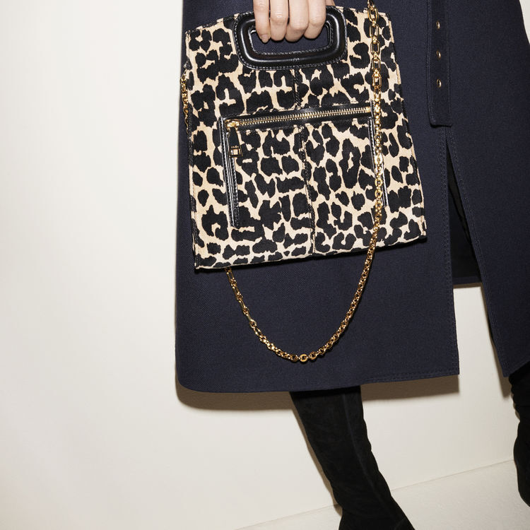 Leopard print bag : M bags color PRINTED