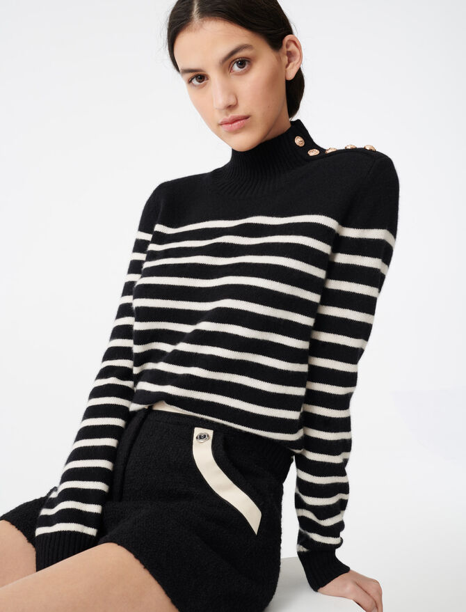 Cashmere sailor-style sweater - All the collection - MAJE
