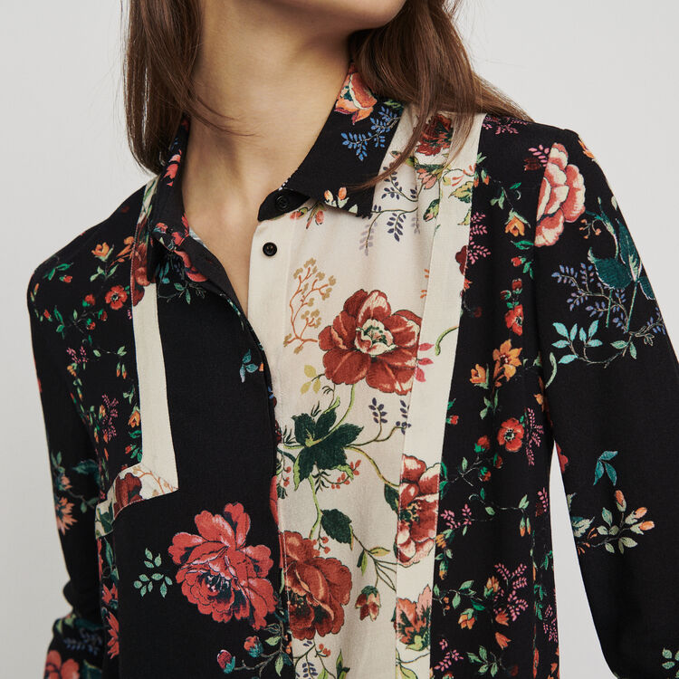 Patchwork print shirt : New in : Summer Collection color PRINTED