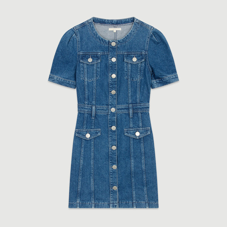 Denim dress : Dresses color Denim