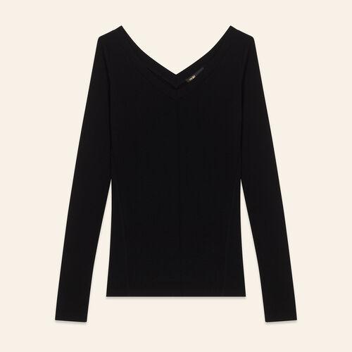 Tee-shirt en jersey : T-shirts color Black 210
