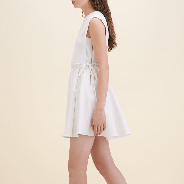 Crêpe sleeveless dress -  - MAJE