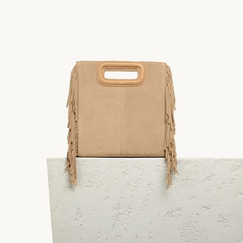 Suede M bag : Accessories color Beige