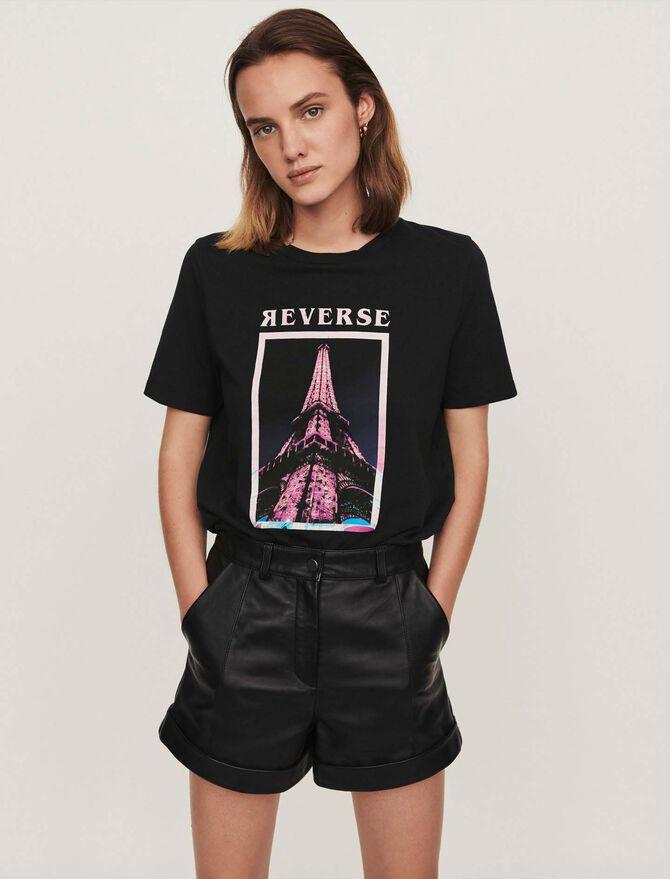 Silk screen printed t-shirt - See all - MAJE