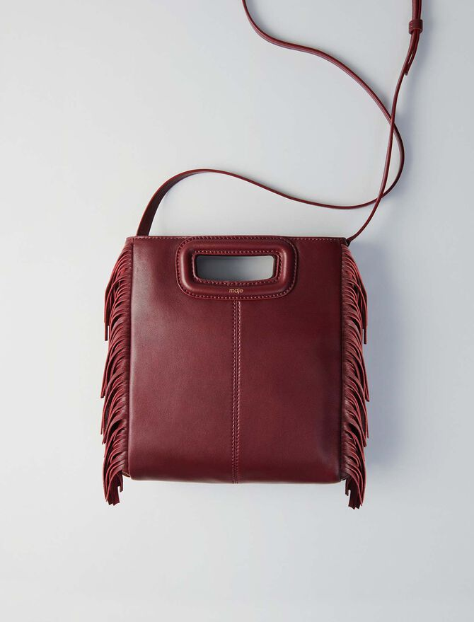 Leather M bag - Last Chance - MAJE