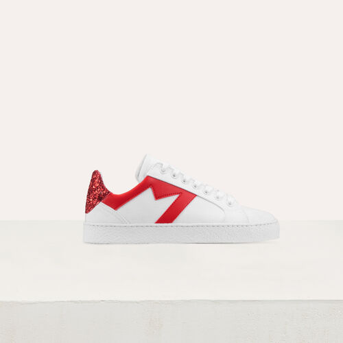 Sneakers with contrasting details : Sneakers color White